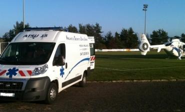 Massiac Ambulances - DZ avec SAMU 15