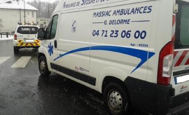 Massiac Ambulances - Jonction avec VLM SAMU 15