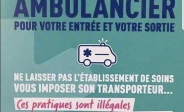 Libre choix du transporteur sanitaire